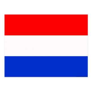 Drapeau néerlandais carte postale
