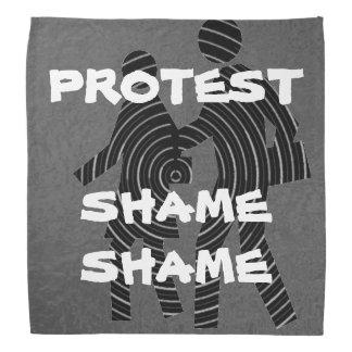 DRAPEAU NOIR : LA PROTESTATION INSTANTANÉE TEAMS FOULARD