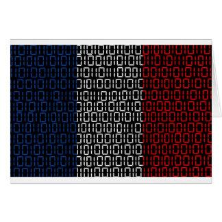 drapeau numérique France Carte