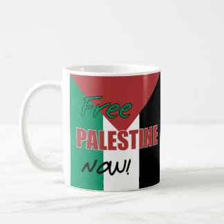 Drapeau palestinien libre de la Palestine Mug Blanc