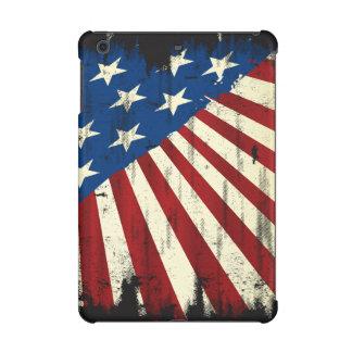 Drapeau patriotique de grunge de l'Amérique