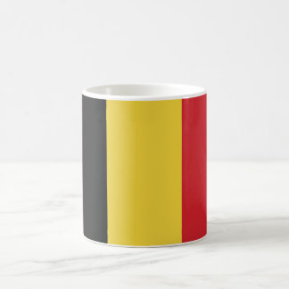 Drapeau simple de la Belgique Mug Blanc