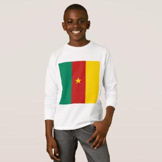 Drapeau simple du Cameroun, chemise du Cameroun T-shirt