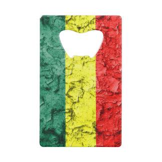 Drapeau vintage de reggae