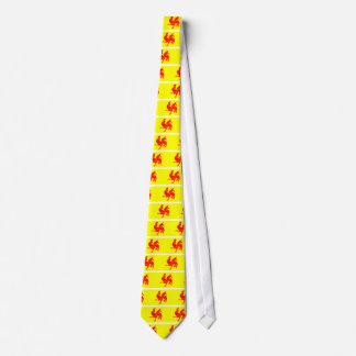 Drapeau wallon (de la Belgique) - Drapeau de la Cravate