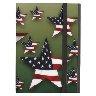 Drapeaux d'étoiles des Etats-Unis Coque iPad Air