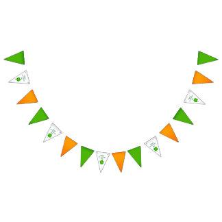 Drapeaux d'Irlandais du jour de St Patrick