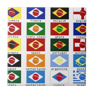 carreaux drapeaux du monde drapeaux du monde carreaux en c ramiques. Black Bedroom Furniture Sets. Home Design Ideas
