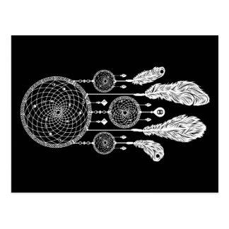Dreamcatcher - carte postale (noir)