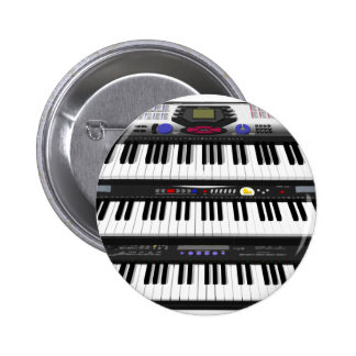 Drie Moderne Toetsenborden: Synthesizers: Ronde Button 5,7 Cm