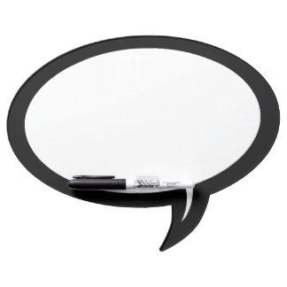 Droge de Bel van de toespraak wist de Raad w/Pen Whiteboards