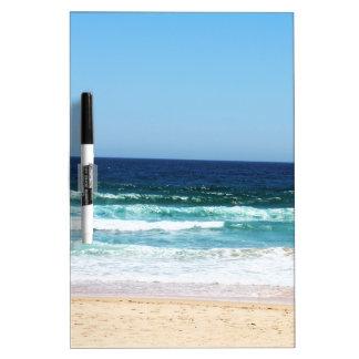 Droge het strand wist Raad + Zeer belangrijke Whiteboard