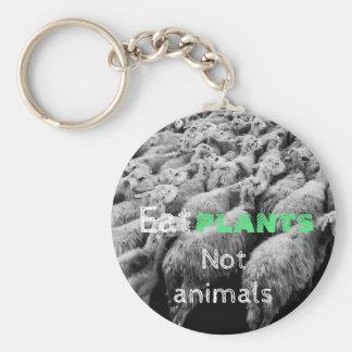 Droits des animaux, porte-clés avec des moutons,