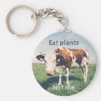 Droits des animaux, porte-clés avec une vache,