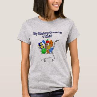 Drôle mon T-shirt de fabrication d'épiceries