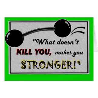Drôle obtenez la carte bonne : Ce qui ne vous tue