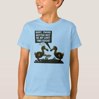 Dronte humoristique t-shirt