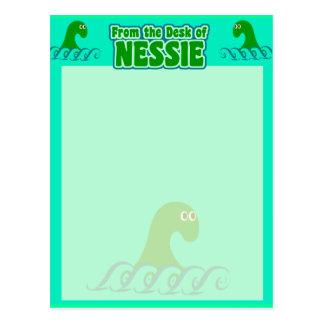 Du bureau du Nessie ! Carte Postale