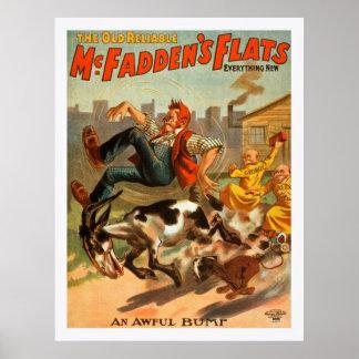 Du vieux les appartements McFadden fiable, poster