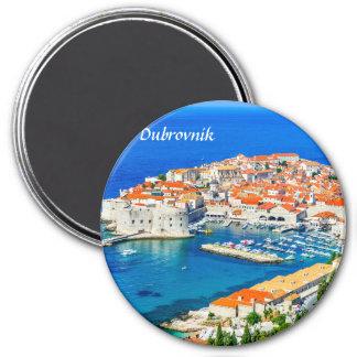 Dubrovnik, Croatie Magnet Rond 7,50 Cm