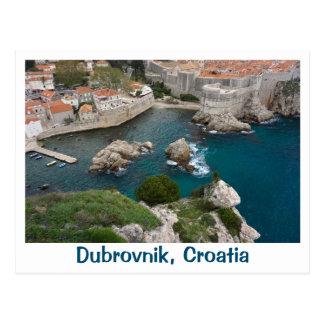 Dubrovnik d'en haut cartes postales