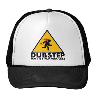 Dubstep peut casquette inflammable