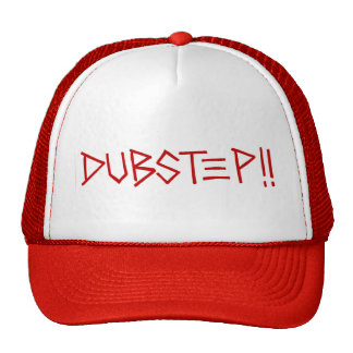 Dubstep ! ! (Rouge) Casquettes