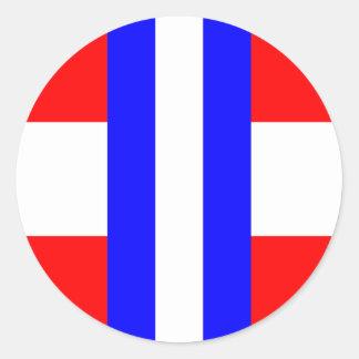 Duché de Modène, Italie Sticker Rond