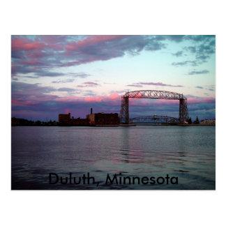 Duluth, carte postale de manganèse