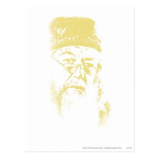 Dumbledore Carte Postale