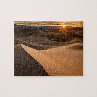 Dunes de sable d'or, Death Valley, CA Puzzle