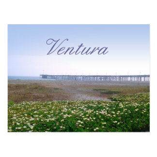 Dunes de Ventura et carte postale de voyage de