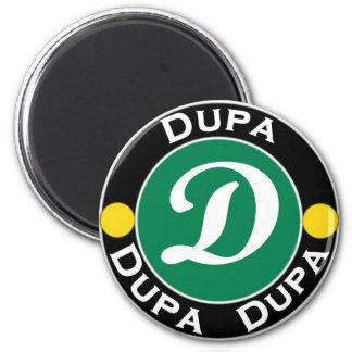 Dupa-Brasserie-Logo Magnet Rond 8 Cm