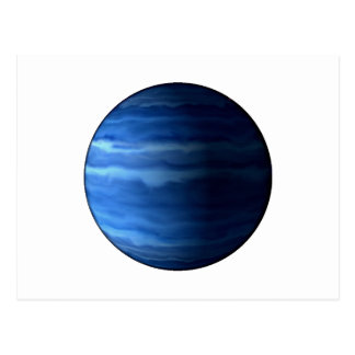 ~~ d'URANUS v2 (système solaire) de PLANÈTE Carte Postale