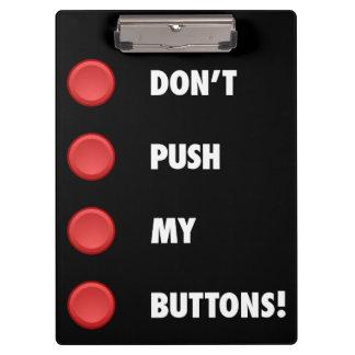 Duw mijn knopen niet klembord