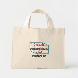Dyslexie, incapacité de capacité pas ! sac en toile mini