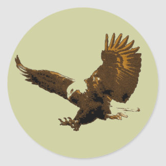Eagle Sticker Rond