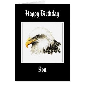 Eagle - fils d'anniversaire, militaires drôles carte