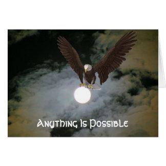 Eagle quelque chose est carte inspirée possible