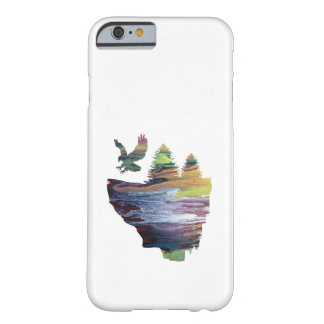 Eagle sur l'île de flottement coque barely there iPhone 6