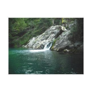 Eau, rivière espagnole montagne. Water, spanish Toiles