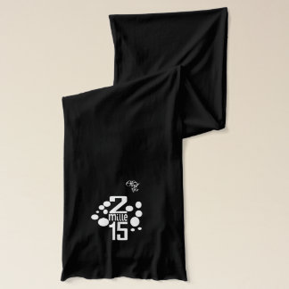 Écharpe 2015 French-word custom scarf
