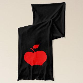 Écharpe Apple rouge