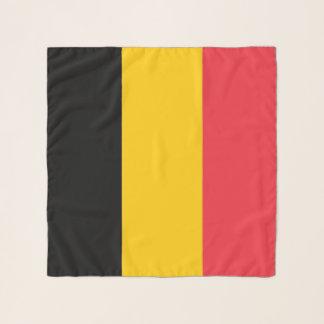 Écharpe carrée avec le drapeau de la Belgique