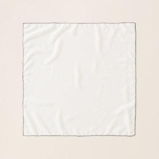 """Écharpe carrée de mousseline de soie, 26"""" x 26"""""""