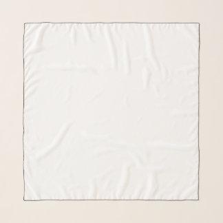 """Écharpe carrée de mousseline de soie, 36"""" x 36"""""""