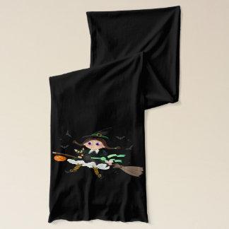 Écharpe Chat noir de petite sorcière