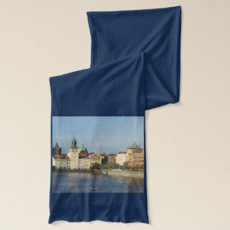 Écharpe de bleu de République Tchèque de Prague