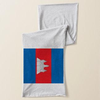 Écharpe de drapeau du Cambodge