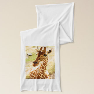 Écharpe De girafe fin